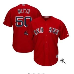 Boston Red Sox Mookie Betts jersey